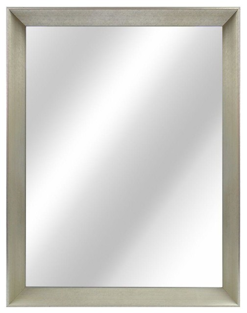 Elements mir036 adler collection rectangular 24 x 28 inch bathroom vanity mirror in december Home decorators collection mirrors