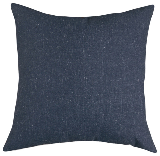 Majestic Home Goods Navy Wales Extra Large Pillow - Contemporary - Decorative Pillows - by ...