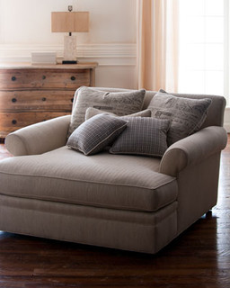 Washington Chaise Traditional Indoor Chaise Lounge