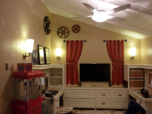 pam theater playroom - eclectic - kids - san diego - by cammy stenavich