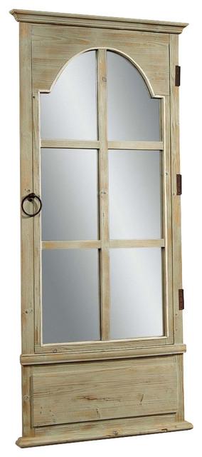 bassett mirror easy living french door leaner mirror in tarragon contemporain miroir poser. Black Bedroom Furniture Sets. Home Design Ideas