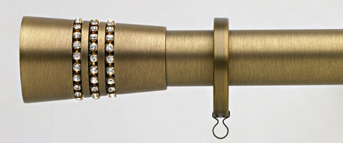 High End Curtain Rods Jewelry Curtain Rods