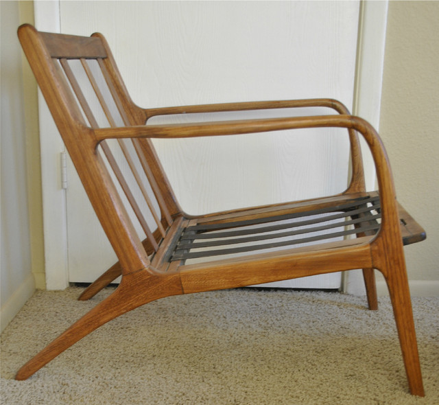 Danish Mid Century Teak Lounge Chair Modern Armchairs