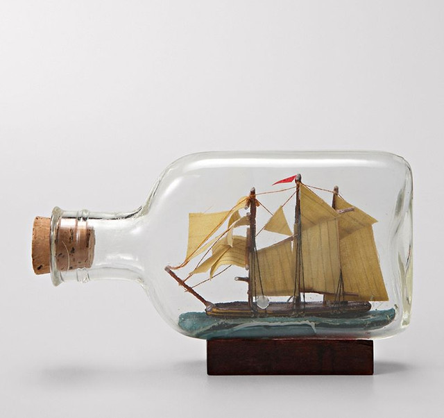 Ship in a Bottle - Eclectic - Home Decor - by Fossil