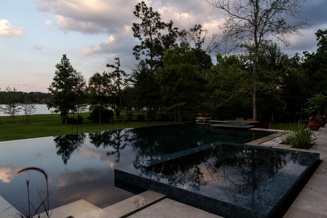 360 Deg Infinity Edge Pool Houston Pool Builder