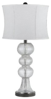 cal lighting aiken glass table lamp traditional table lamps by. Black Bedroom Furniture Sets. Home Design Ideas