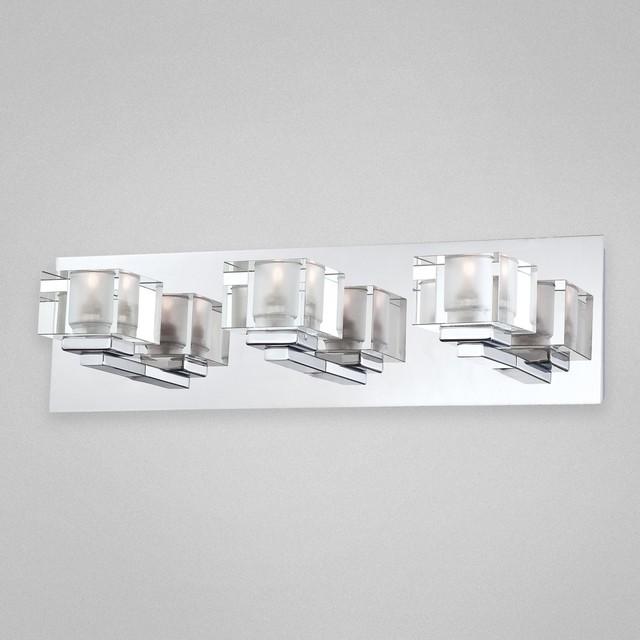 Prism 3 Lt Bath Bar Modern Bathroom Vanity Lighting