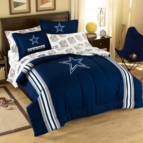 nfl dallas cowboys bed in bag set modern beds