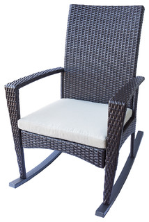Porch Rocking Chairs Modern Outdoor Rocking Chairs San Diego By Eurol