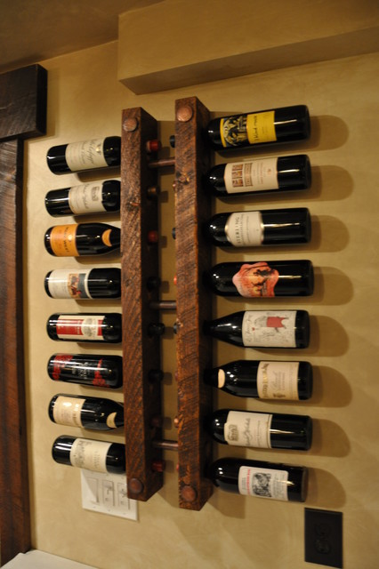 17 Best images about Rustic wine rack on Pinterest