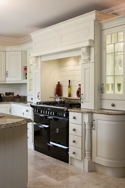 Cream painted traditional kitchen cabinets other for Traditional painted kitchens