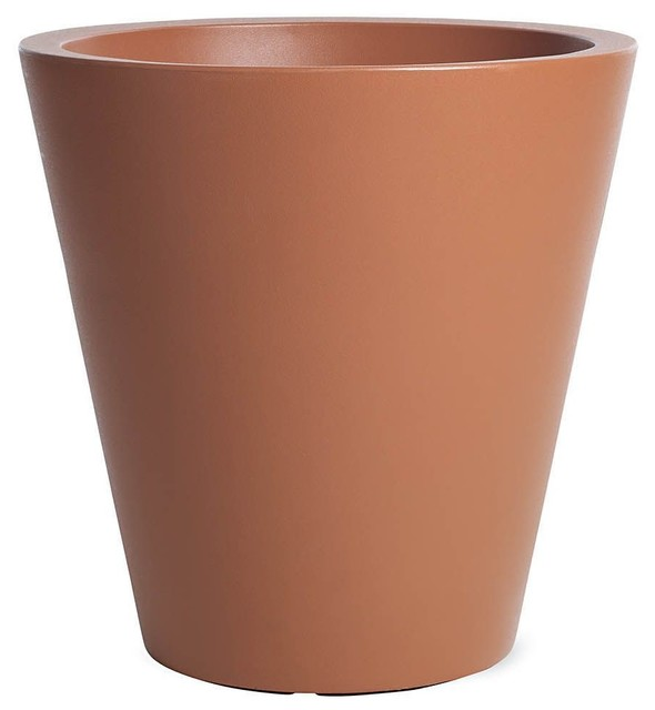 New Pot 60 - Modern - Indoor Pots And Planters