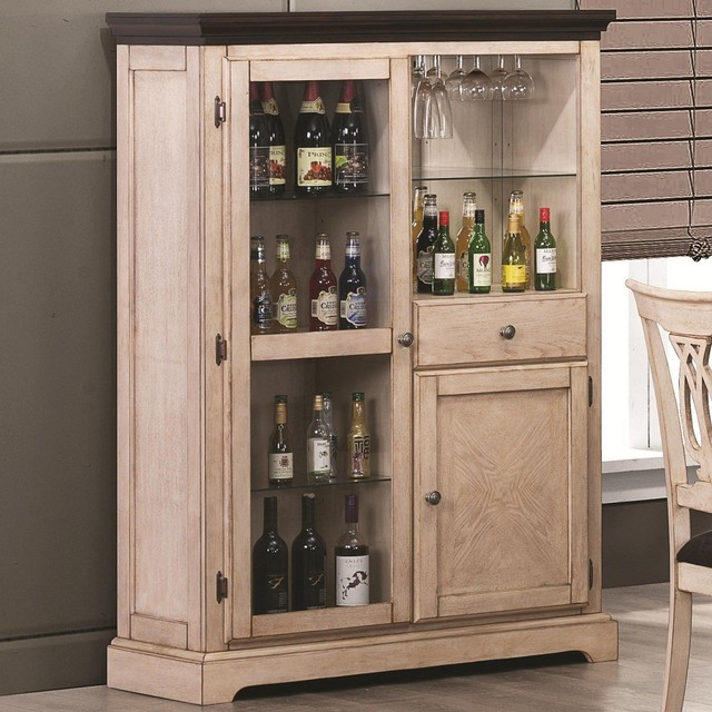 white wine bar cabinet 2