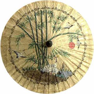 "... "" Diameter Oriental Umbrella - Asian - Home Decor - by Oriental Decor"