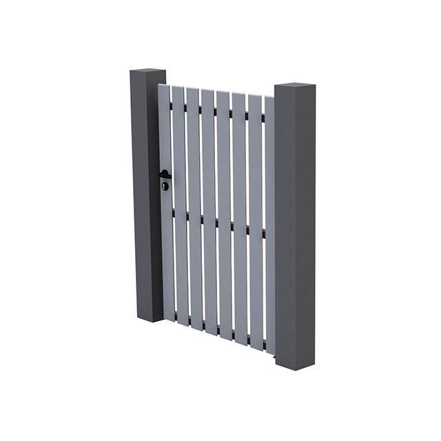 Portillon en pvc luchon 100 cm contemporain cl ture et for Prix portillon pvc