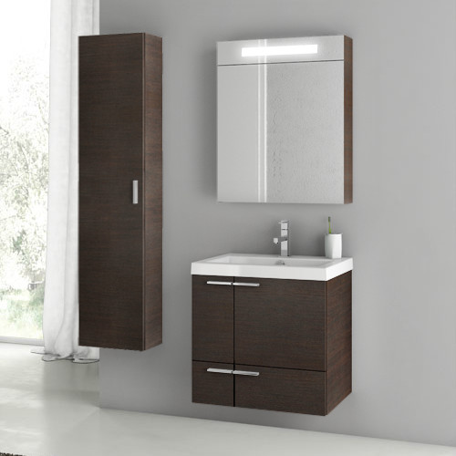 23 inch wenge bathroom vanity set contemporary bathroom vanity units