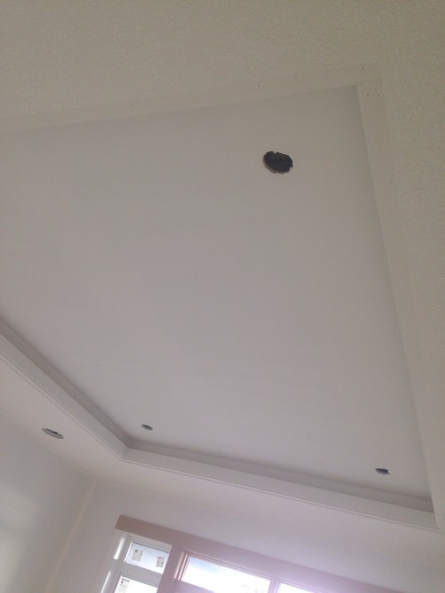 Coffered ceiling paint rules Rules for painting ceilings