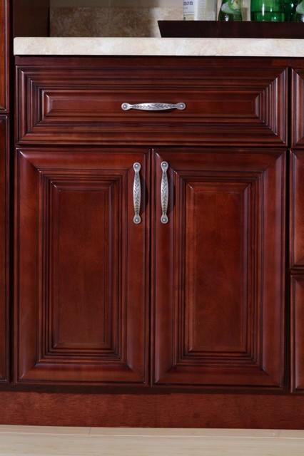 B Jorgsen Co St James Mahogany Kitchen Cabinets Detroit By Cabine