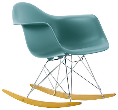 eames rar rocking chair ocean midcentury rocking chairs by john lewis. Black Bedroom Furniture Sets. Home Design Ideas