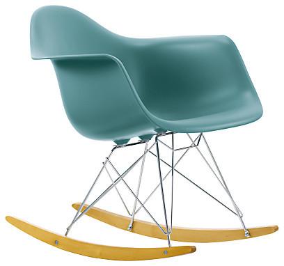 Eames rar rocking chair ocean midcentury rocking chairs by john lewis - Eams rocking chair ...