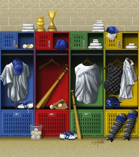 Contemporary for Baseball mural wallpaper
