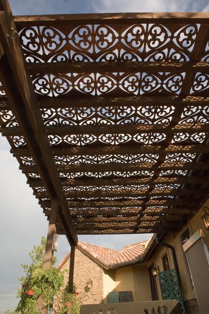 Parasoleil Patterns Mediterranean Outdoor Umbrellas