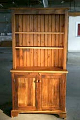 3ft Open Top Barn Wood Hutch - Farmhouse - China Cabinets ...