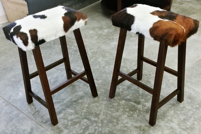 Cow Hide Barstools Cleveland By Copley Upholstery Inc