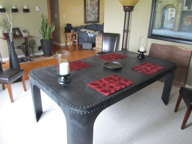 Industrial Style Furnishings Industrial Dining Tables  : industrial dining tables from www.houzz.com.au size 640 x 480 jpeg 71kB