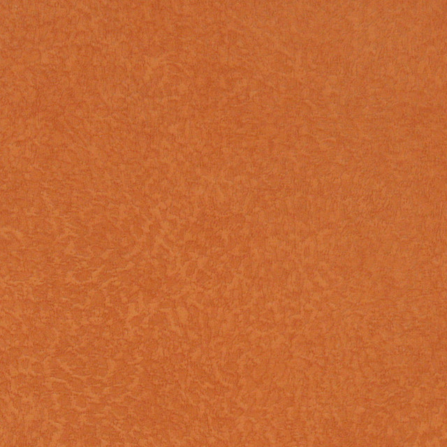 Orange Solid Spotted Microfiber Stain Resistant Upholstery