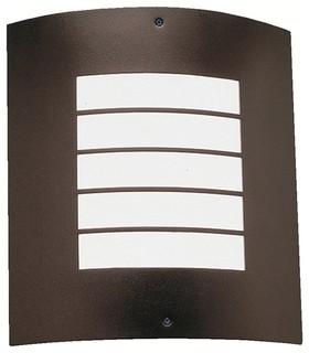 Kichler 6040AZ Newport Architectural Bronze 1 Light Outdoor Wall ...