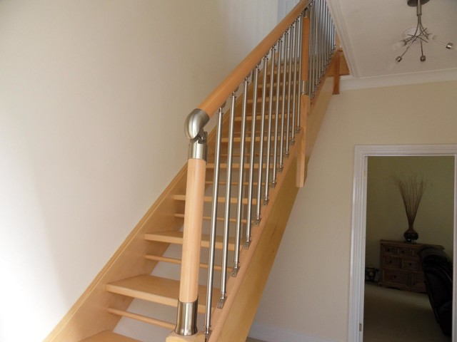 Detached Bungalow Exmouth Traditional Staircase