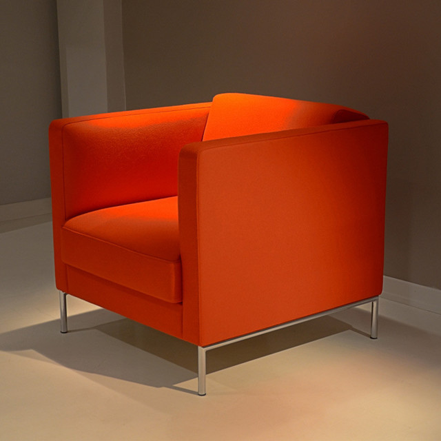 Soft Lounge Chair by B&T Design - Modern - Armchairs And Accent Chairs ...