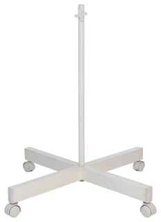 Vanity Light Replacement Parts : Daylight Lamp Replacement Parts 29.5 in. White Four Spoke Floor Stand with 4 - Contemporary ...