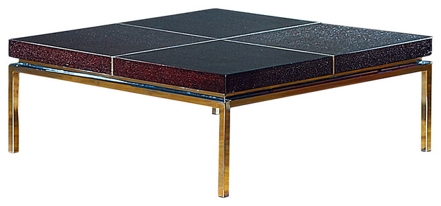 Wenge Coffee Table Square Modern Coffee Tables By At Home Usa Inc