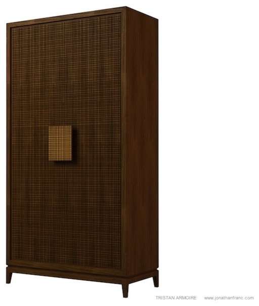 Tristan armoire by jonathan franc modern armoires and for Armoire salon design