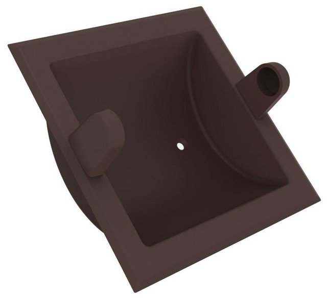 Recessed Toilet Paper Holder In Oil Rubbed Bronze
