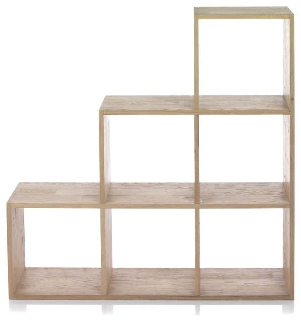 tassia tag re escalier en ch ne massif contemporain. Black Bedroom Furniture Sets. Home Design Ideas