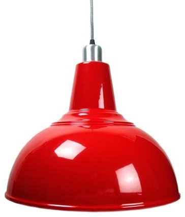 kitchen lamp red