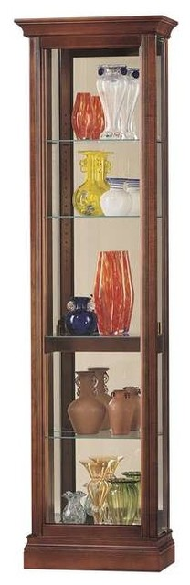 Howard Miller Gregory Curio Cabinet - Traditional - China Cabinets And Hutches - by DesignerCurios