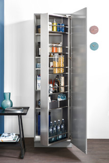 Interior Contemporary Pantry Cupboards Other By Leicht Kitchen Design Centre