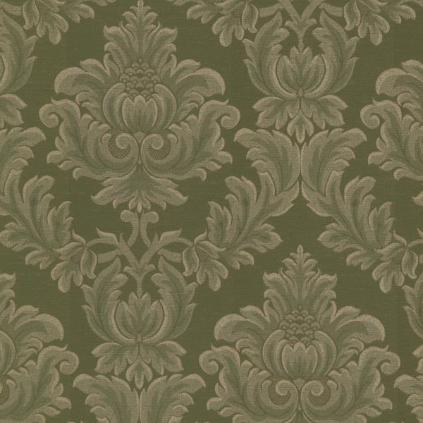damask accents in green - photo #33
