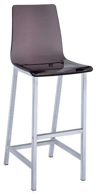 Counter Height Acrylic Stools : Acrylic Bar Height Stool With Chrome Base - Bar Stools And Counter ...