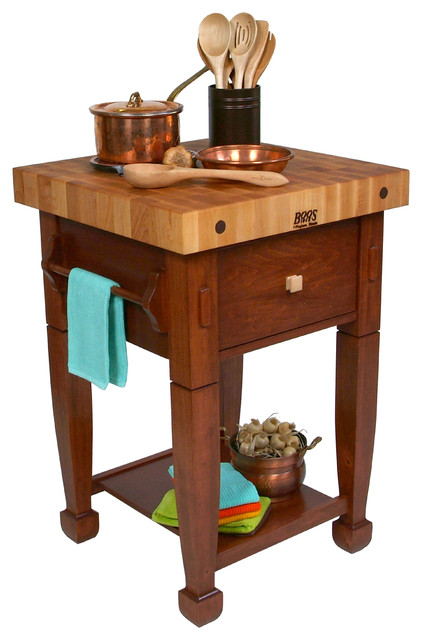 john boos jasmine block traditional kitchen islands and kitchen carts by florence adams