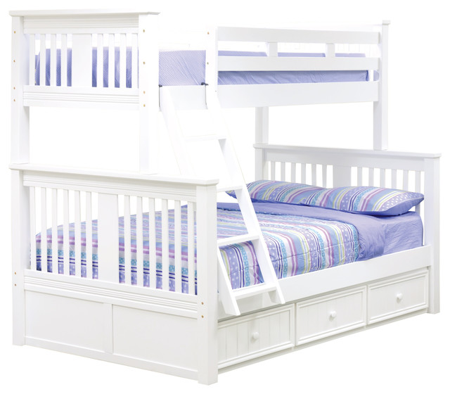 Brockton Twin Over Full Bunk Bed With Underbed Storage