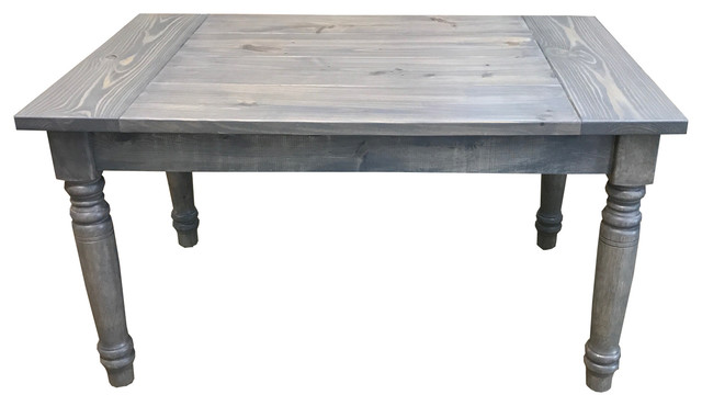Grey English Farmhouse Table Rustic by Ezekiel & Stearns