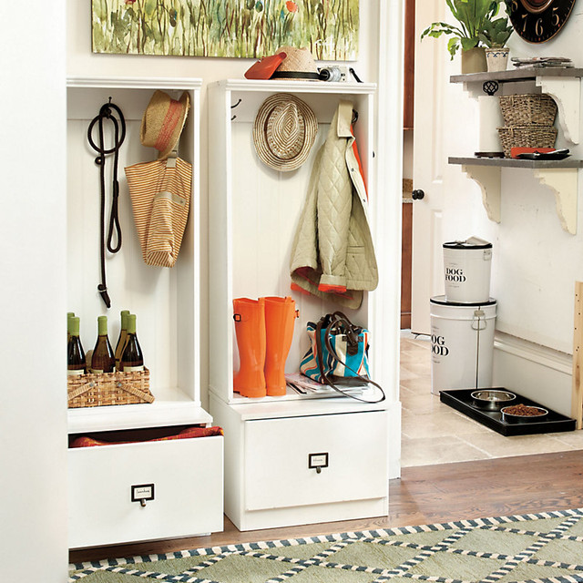 Ballard Designs Beadboard Entryway Cabinet Contemporary