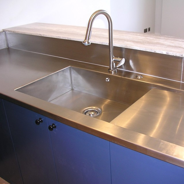 Stainless Steel Sinks modern-kitchen-taps