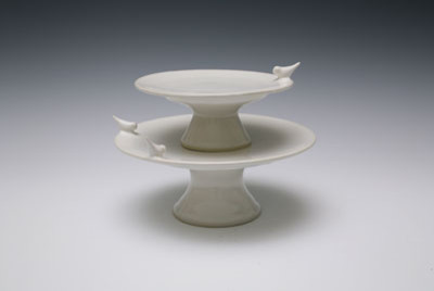 Bird Cake Stand - Contemporary - Dessert And Cake Stands ...