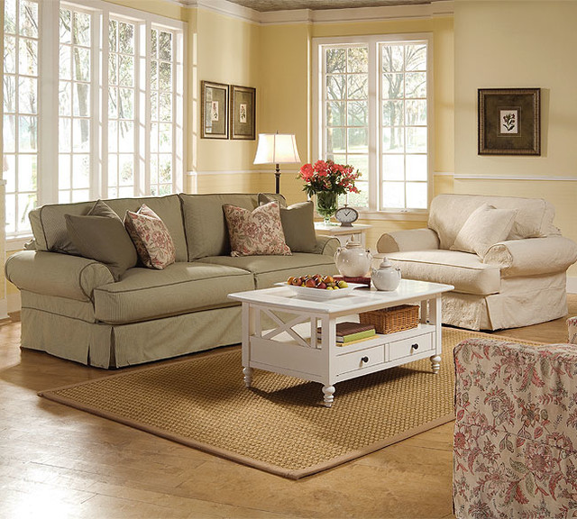 Slipcovers Ashley Furniture: Rowe Addison Slip Cover Sofa Collection